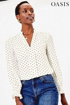 Oasis Black Spot Shirt
