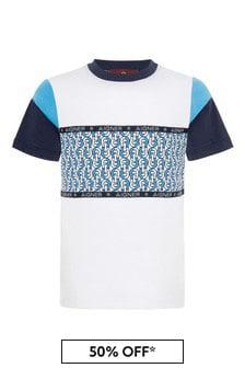 Aigner White Cotton T-Shirt