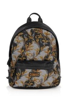 Kids Black/Gold Backpack