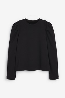 Volume Sleeve Comfort Sweatshirt
