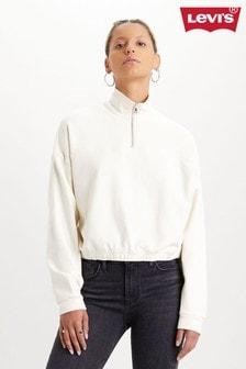 Levi's® Quarter Zip Fleece Sweater