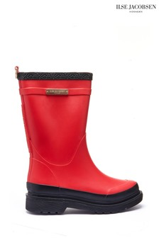 Ilse Jacobsen Hornbk Red Wellies