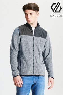 Dare 2b Grey Foretold Full Zip Fleece