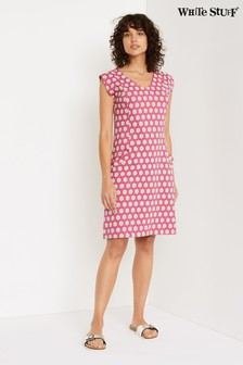 White Stuff Pink Lena Fairtrade Dress