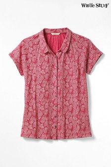 White Stuff Red Harbour Holiday Jersey Shirt