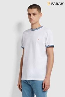 Farah White Texas T-Shirt