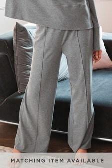 Fleece Lounge Wide Leg Trousers