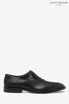 Kurt Geiger London Sloane Oxford Black Shoes