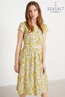 Seasalt Tall Yellow Briarfield Dress