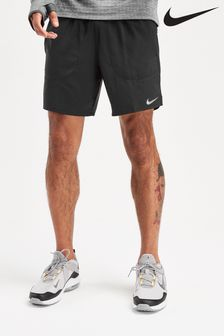"Nike Black Flex Stride 7"" 2-in-1 Shorts"