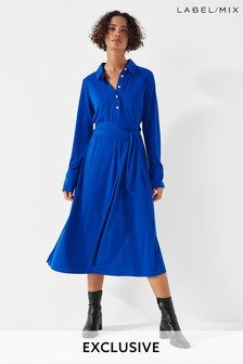 Next/Mix Jersey Shirt Dress
