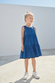 Racer Back Cotton Dress (3-16yrs)