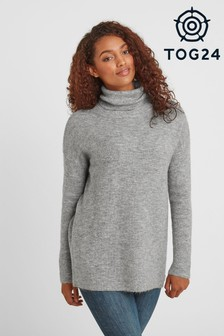 Tog 24 Grey Mina Womens Knit Jumper
