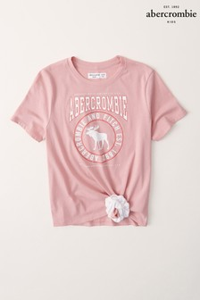 Abercrombie & Fitch Scrunchie Graphic T-Shirt