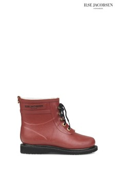 Ilse Jacobsen Hornbk Red Short Wellies