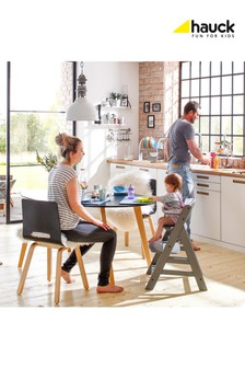 Hauck Alpha+ Wooden Highchair Grey