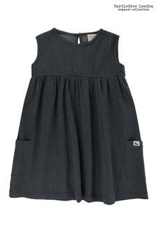 Turtledove London Sleeveless Cheesecloth Dress