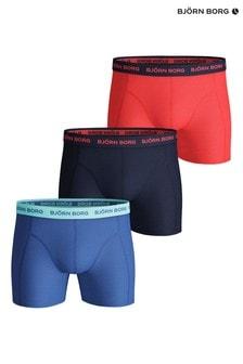 Bjorn Borg Seasonal Solid Sammy Shorts Three Pack
