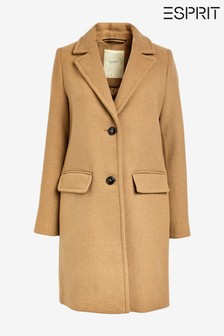 Esprit Brown Blazer Coat