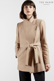 Ted Baker Rosess Short Wool Wrap Coat