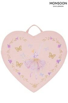 Monsoon Lovely Herzförmiger Rucksack mit Ballerina-Motiv