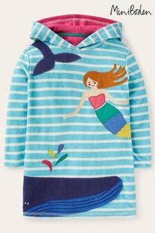 Boden Blue Fun Towelling Beach Dress