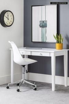 Julian Bowen Erika Office Chair White/Chrome