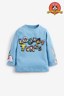 Looney Tunes® Jersey Long Sleeve T-Shirt (3mths-8yrs)