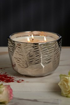Midnight Patchouli & Amber 3 Wick Candle