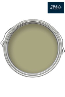 Chalky Emulsion Tapestry Green Paint by Craig & Rose
