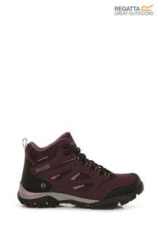 Regatta Purple Lady Holcombe IEP Mid Walking Boots