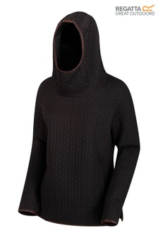 Regatta Black Kaylynn Fleece Hoody