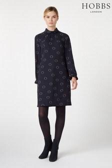 Hobbs Black Clarice Dress
