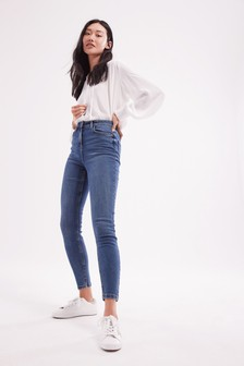 High Rise Authentic Skinny Jeans