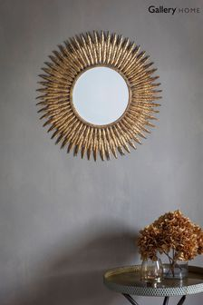 Quill Feather Mirror by Gallery Direct