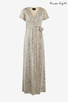Phase Eight Amily Sequin Wrap Dress