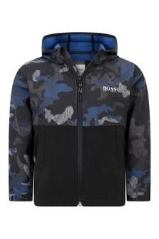 Boys Camouflage Windbreaker Jacket