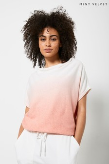 Mint Velvet Coral Ombre Knitted Top