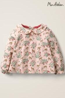 Boden ピンク プリントカラー Tシャツ