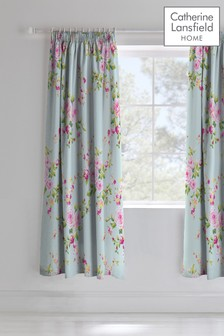 Canterbury Pencil Pleat Curtains by Catherine Lansfield
