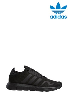 adidas Originals Black Swift Run X Trainers