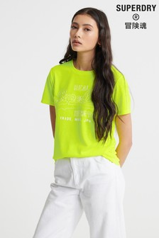 Superdry Vintage Logo Outline Pop T-Shirt