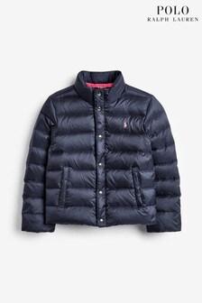 Ralph Lauren Navy Packable Jacket