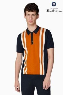 Ben Sherman Navy Mod Stripe Polo