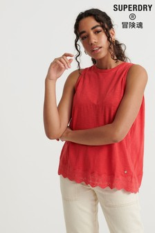 Superdry Lace Mix Vest Top