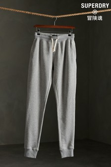 Superdry Organic Cotton Standard Label Loopback Joggers