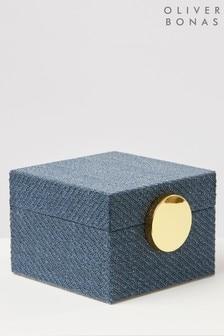 Oliver Bonas Tela Fabric Jewellery Box