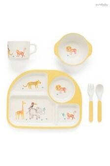 Purebaby Safari Dinnerware Set