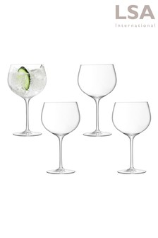Set of 4 Balloon Gin by LSA International