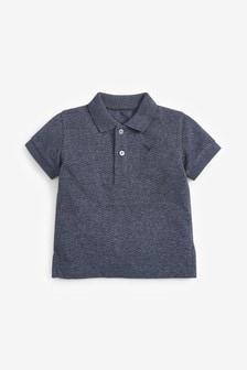 Short Sleeve Textured Poloshirt (3mths-7yrs)